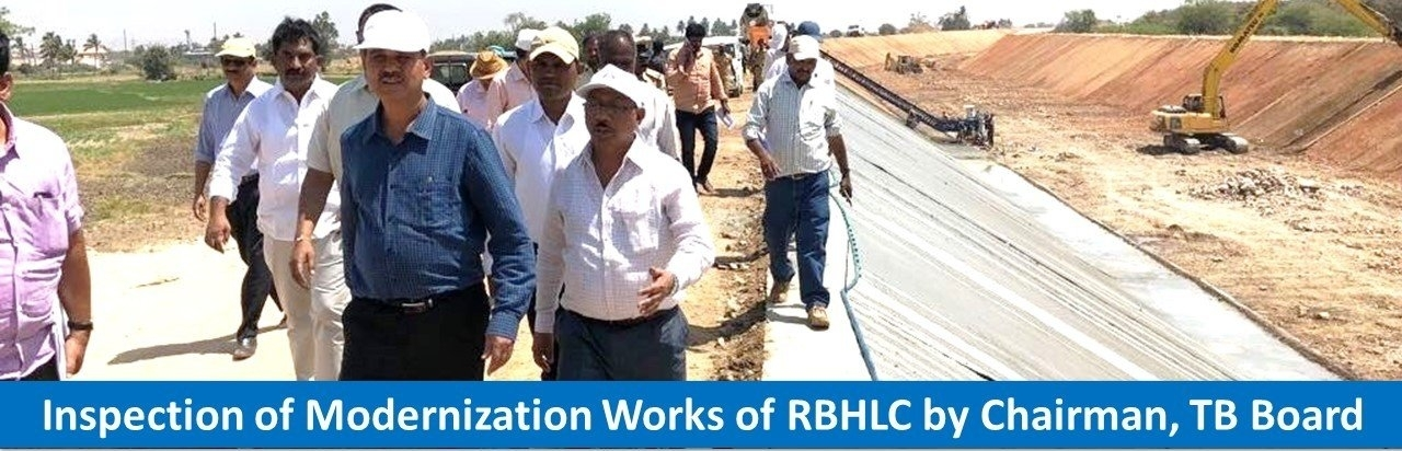 Inspection of Modernization Works of RBHLC by Chairman, TB Board