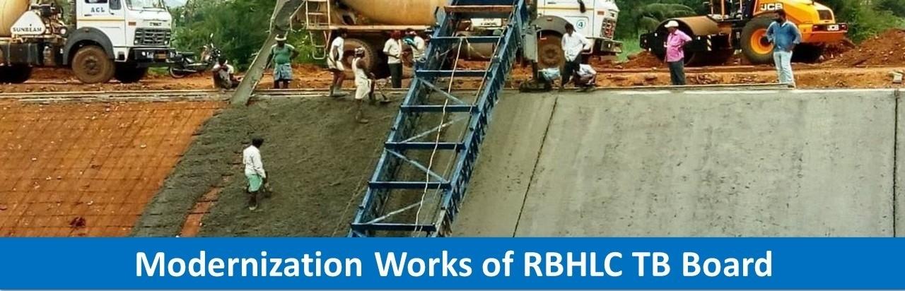 Modernization Works of RBHLC TB Board