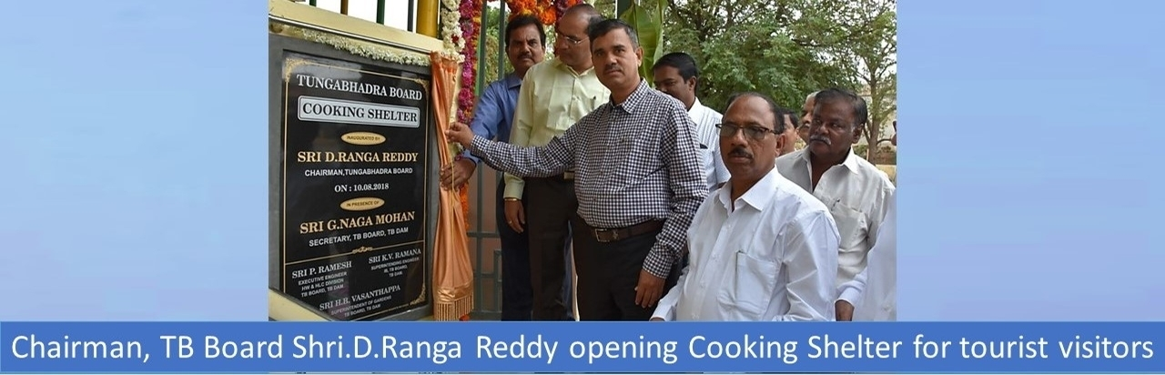 Tungabhadra Board - Cooking Shelter Inauguration